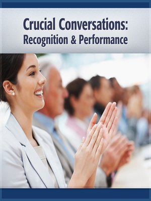 cover image of Crucial Conversations Recognition and Performance