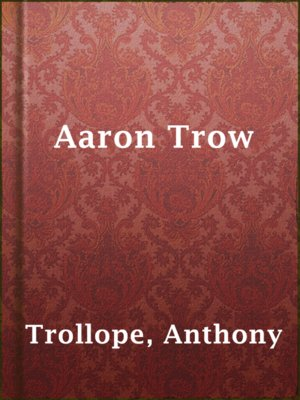 cover image of Aaron Trow