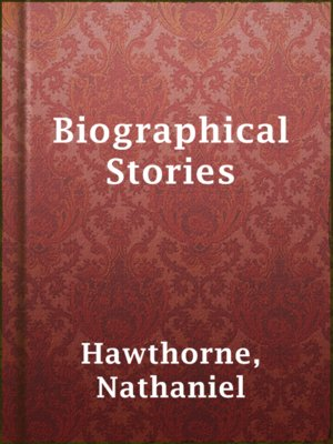 cover image of Biographical Stories