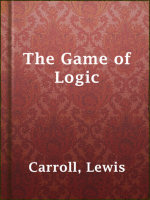 cover image of The Game of Logic