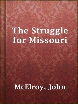 cover image of The Struggle for Missouri