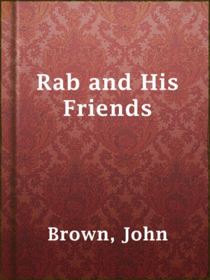 cover image of Rab and His Friends