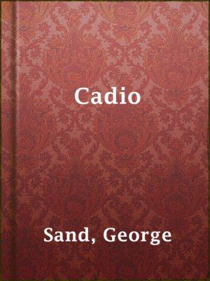 cover image of Cadio