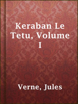 cover image of Keraban Le Tetu, Volume I