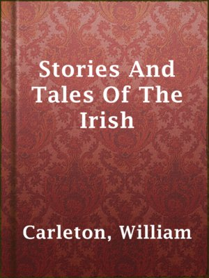 cover image of Stories And Tales Of The Irish