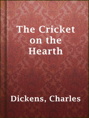 cover image of The Cricket on the Hearth