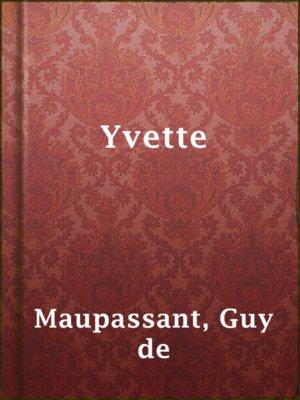 cover image of Yvette