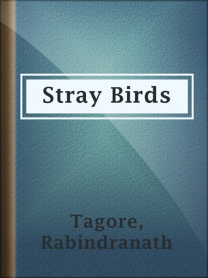 cover image of Stray Birds
