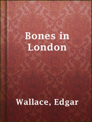 cover image of Bones in London