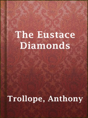 cover image of The Eustace Diamonds