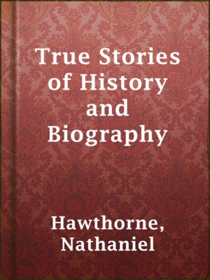 cover image of True Stories of History and Biography