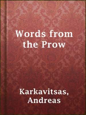cover image of Words from the Prow