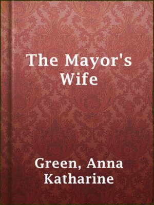 cover image of The Mayor's Wife