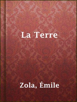 cover image of La Terre