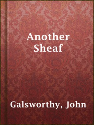 cover image of Another Sheaf