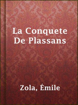 cover image of La Conquete De Plassans