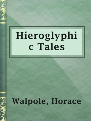 cover image of Hieroglyphic Tales