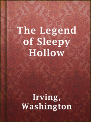 cover image of The Legend of Sleepy Hollow