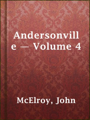 cover image of Andersonville — Volume 4