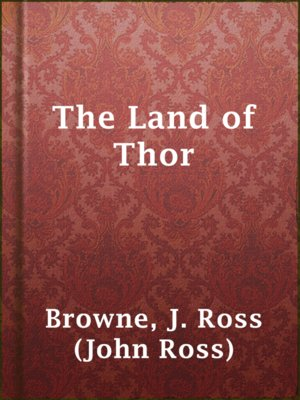 cover image of The Land of Thor