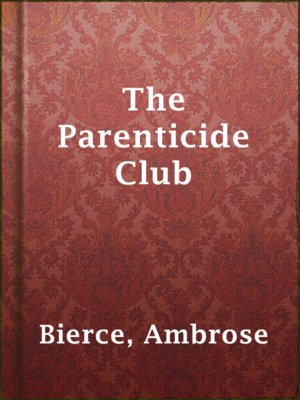 cover image of The Parenticide Club