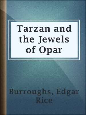 cover image of Tarzan and the Jewels of Opar
