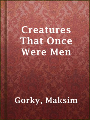 cover image of Creatures That Once Were Men