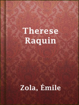 cover image of Therese Raquin
