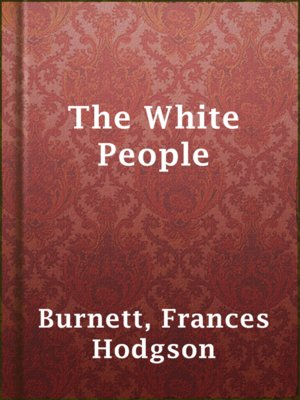 cover image of The White People