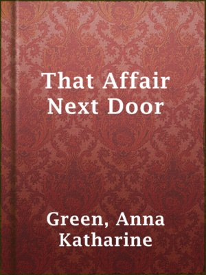 cover image of That Affair Next Door