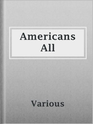 cover image of Americans All