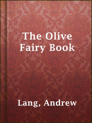 cover image of The Olive Fairy Book