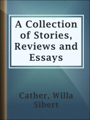 cover image of A Collection of Stories, Reviews and Essays