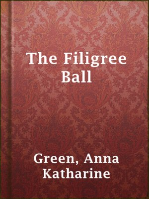 cover image of The Filigree Ball