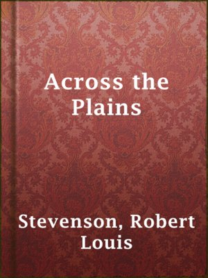 cover image of Across the Plains