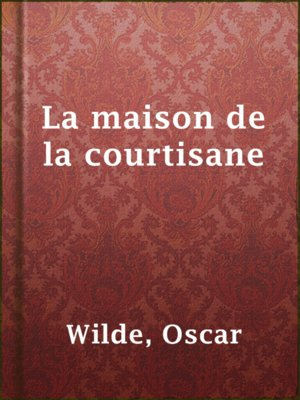 cover image of La maison de la courtisane