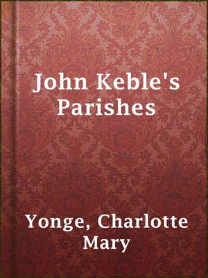 cover image of John Keble's Parishes