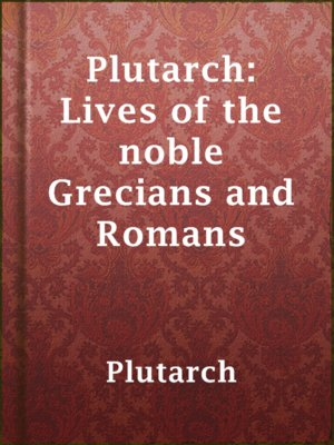 plutarchs lives julius caesar