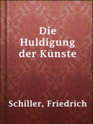 cover image of Die Huldigung der Künste