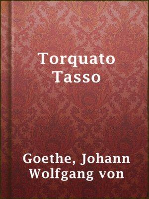 cover image of Torquato Tasso