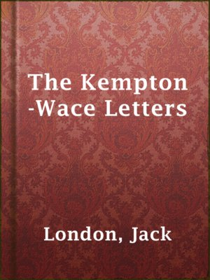 cover image of The Kempton-Wace Letters