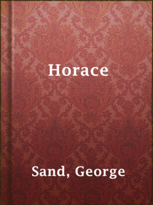 cover image of Horace