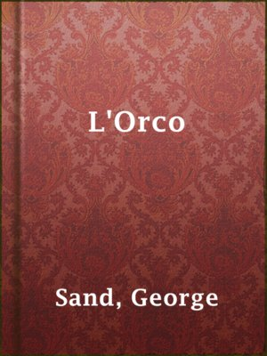cover image of L'Orco