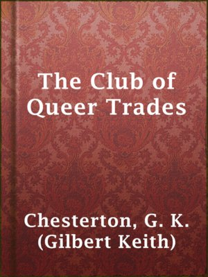 cover image of The Club of Queer Trades