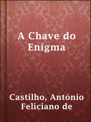 cover image of A Chave do Enigma