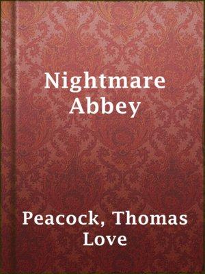 Nightmare Abbey Thomas Love Peacock Pdf