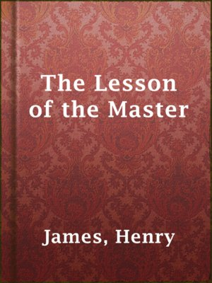 cover image of The Lesson of the Master