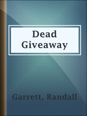 cover image of Dead Giveaway