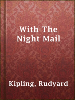cover image of With The Night Mail