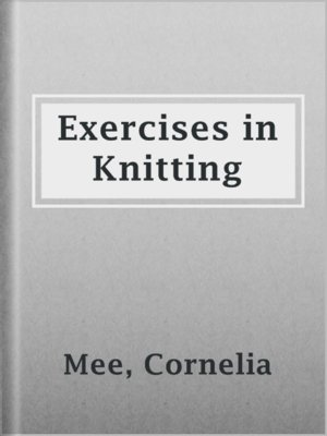 cover image of Exercises in Knitting